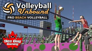 MY PARTNER IS AN IDIOT!!!  || Volleyball Unbound Pro Beach Volleyball Episode 5