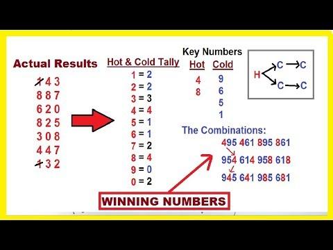 Next winning lottery numbers