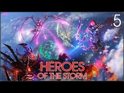 видео: heroes of the storm: Новая карта #5