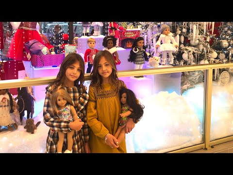 Ava & Leah Take On The American Girl Doll Store In NYC!