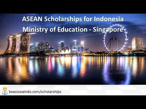 Singapore - ASEAN Scholarships for Indonesia by Ministry of Education