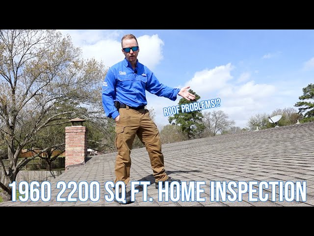 1960s 2200 sq ft. Property - Home Inspection - Roof Damage, Foundation, & More