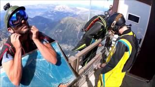 Wingsuit CHAMONIX  Aiguille du Midi Septembre 2016