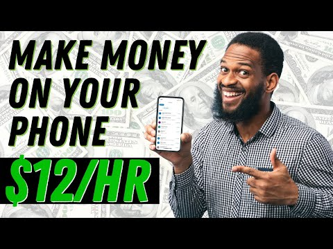 Earn $12.00 Every Min With Your Phone - Make Money Online 2021