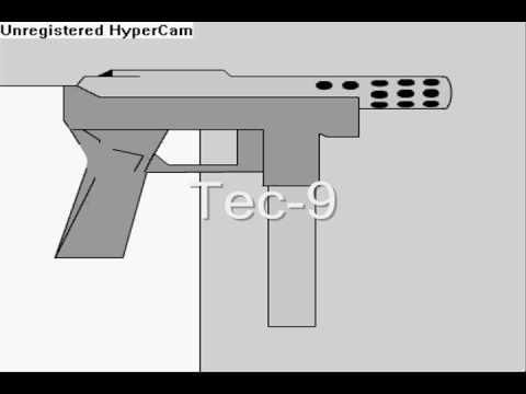 Guns and a a short clip
