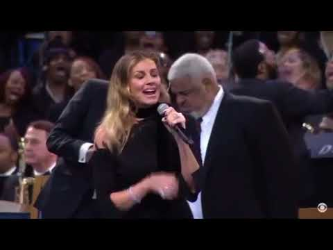 BigKat Kris Stevens - Faith Hill Sings at Aretha Franklin's Funeral
