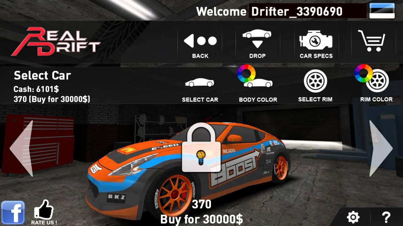 Real Drift Car Racing Full Download Apk Youtube