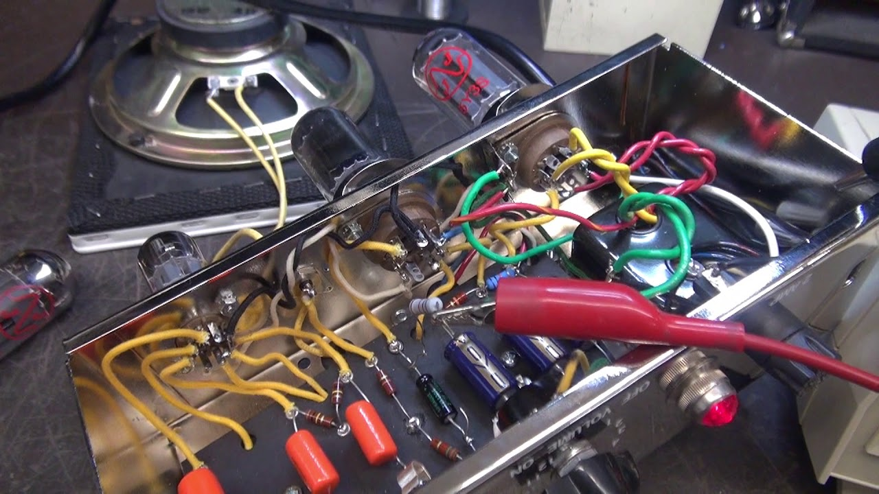 How To Fix Smoking Fender 5f1 Tube Champ Guitar Amp Kit