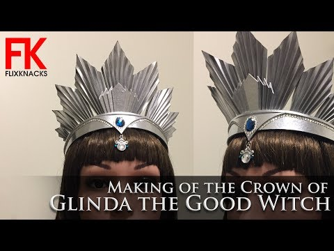 DIY Crown - Glinda the Good Witch (from Oz the Great and Powerful)