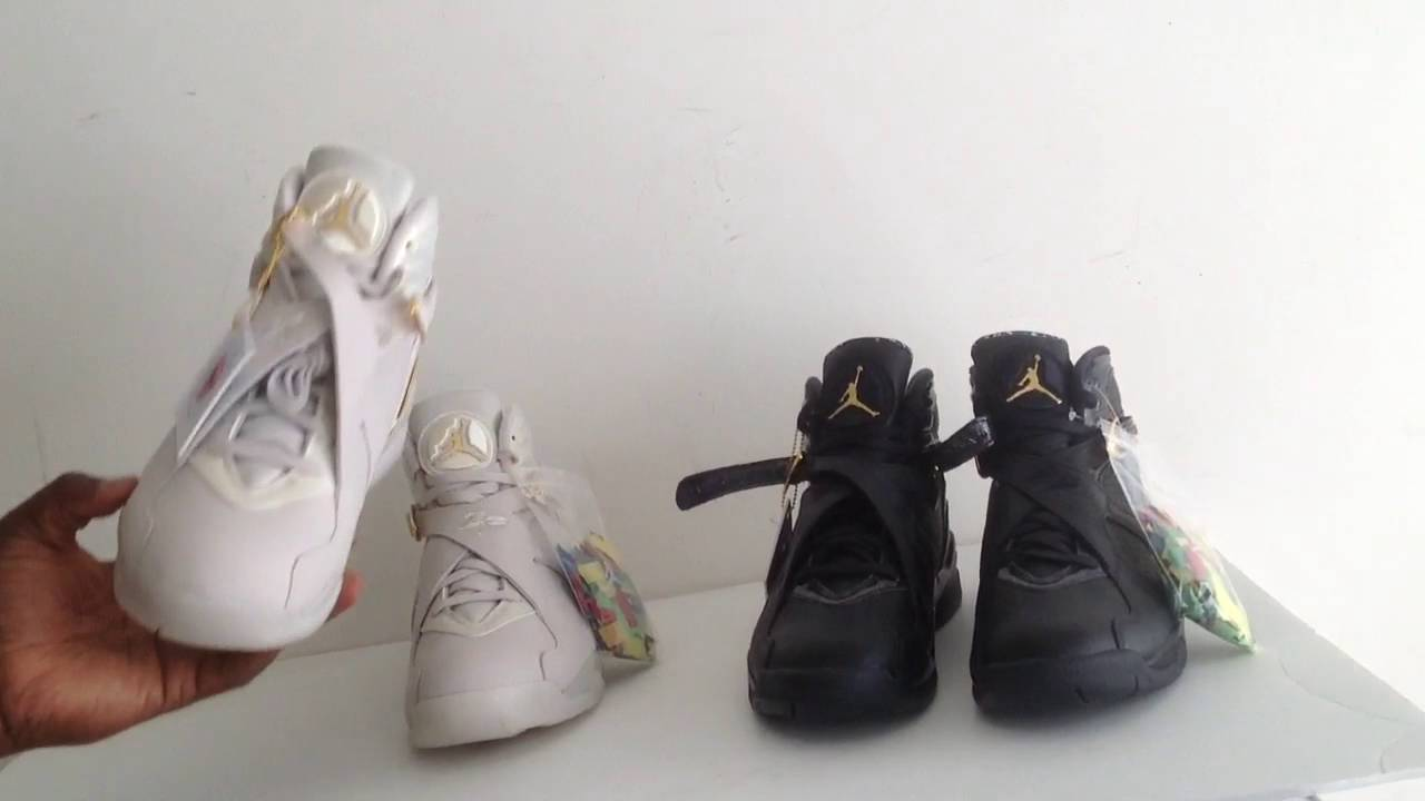 aef528248c4f Air Jordan 8 Retro Championship Pack Champagne   Confetti Light Gold Black  First Look