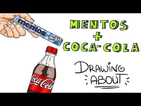 Download Youtube: MENTOS Y COCA COLA🌋   Drawing About