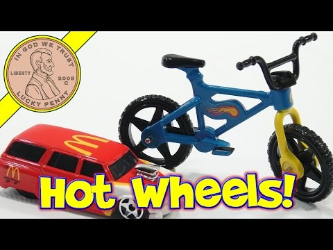 Hot Wheels Cars 16-Toy 2000 Set, McDonald's Retro Happy Meal Toy Series