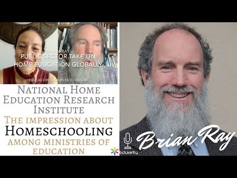 Brian Ray: Ministries of Education take on Home Education - homeschooling