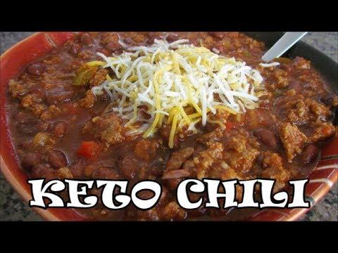 Keto Chili Low Carb Chili Ketogenic Diet Youtube