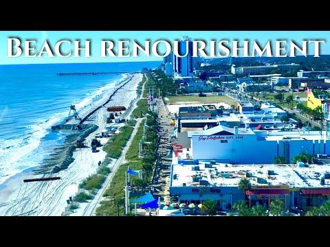Beach Renourishment Status - Myrtle Beach, SC