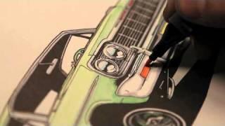 Lowrider Coloring Book Trailer