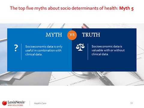 Social Determinants of Health: Turning Potential into Actual Value | LexisNexis Risk Solutions