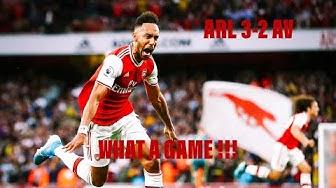 Arsenal 3-2 Aston Villa |Premier League Blog Matchday 6