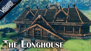 Valheim | Viking longhouse season 2 building Ep #2(hearth & home)