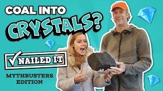 DIY Coal to Crystals // Nailed It