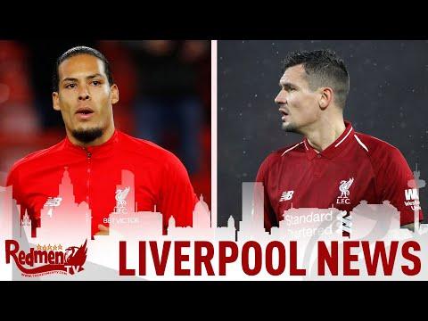 Van Dijk has a knock, Lovren Injured & Ejaria goes out on Loan | Liverpool FC Transfer News