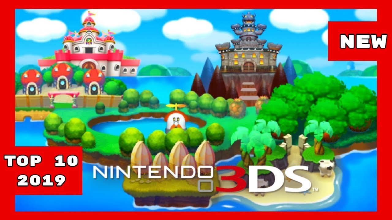 Top 10 New Upcoming 3ds Games 2019 Youtube