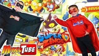 El Villano misterioso quiere llevarse nuestros juguetes SuperZings