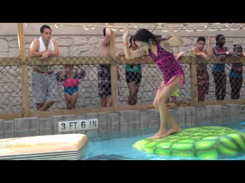 Aquatopia Waterpark Family Vacation Vlog, Day 1 Part 2 + Annie's Scary Blooper