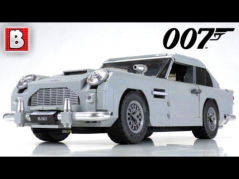 LEGO James Bond Aston Martin DB5 Review!   Creator Expert 10262