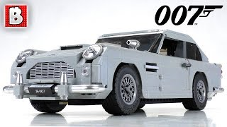 LEGO James Bond Aston Martin DB5 Review! | Creator Expert 10262
