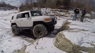 FJ CRUISER WINTER OFF ROAD