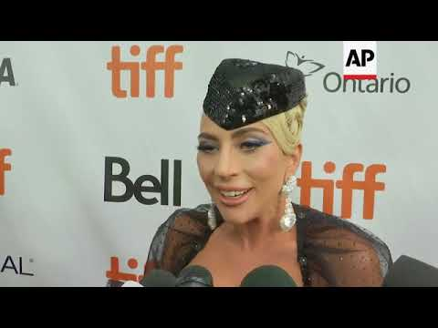 Lady Gaga premieres 'A Star is Born' in Toronto; talks identifying with her character