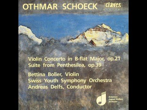 "Othmar Schoeck: Violin Concerto in B-Flat Major. Op. 21 ""Quasi una Fantasia"" / Bettina Boller"
