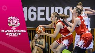 Norway v Croatia - Full 3rd Place Game - FIBA U16 Women's European Championship Division B 2019