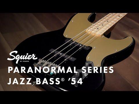Exploring the Paranormal Series Jazz Bass '54   Fender