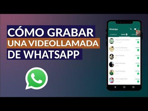 Cómo Grabar una Videollamada de WhatsApp con Audio Incluido