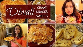 DIWALI Party! Chaat, Snacks, Sweets