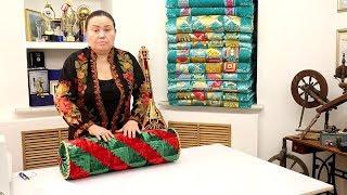 Лоскутное шитье для начинающих - как сшить подушку валик. 2 урок. Курак. Квилтинг. Пэчворк.