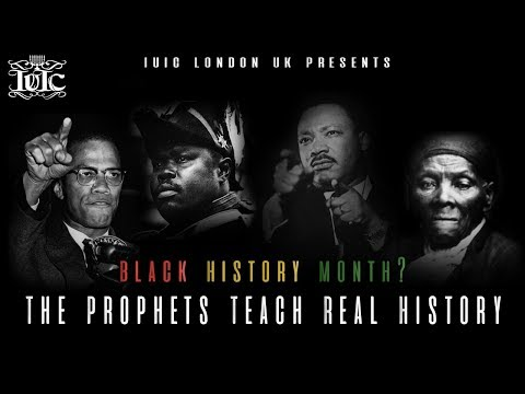 The Israelites: Black History Month?  The Prophets Teach Real History