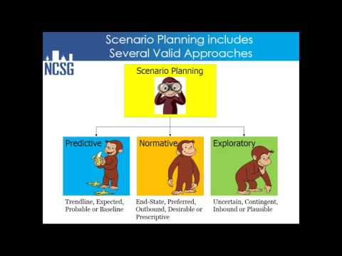 Scenario Planning: Approaches and Tools Webinar