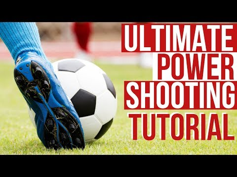 Football Power Shot Technique - How To Shoot A Football Perfectly