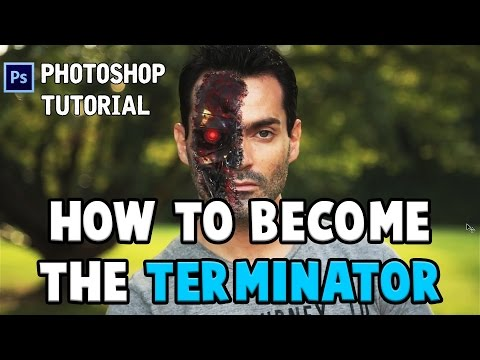 [TUTORIAL] HOW TO CREATE A TERMINATOR FACE || PHOTOSHOP