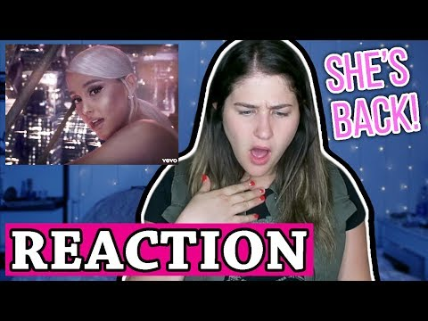 No Tears Left To Cry  Ariana Grande  REACTION