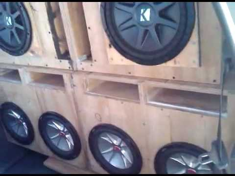 test subwoofer kicker cvr 40 hz 80 hz youtube. Black Bedroom Furniture Sets. Home Design Ideas