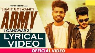 army-gangwar-2-al-sumit-goswami-shanky-goswami-new-haryanvi-songs-haryanavi-2019
