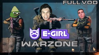 Trainwreckstv Books Girls From Egirl.gg To Play Warzone [Full Vod]