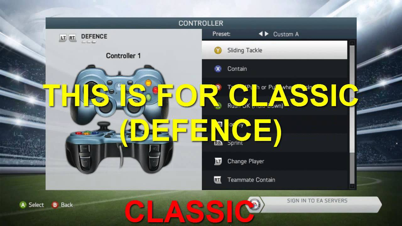 HOW TO FIX FIFA 14 Gamepad BUTTONS [CLASSIC & ALTERNATE like fifa 13]