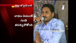 YS Jagan takes up cudgels on behalf of Capital area farmers