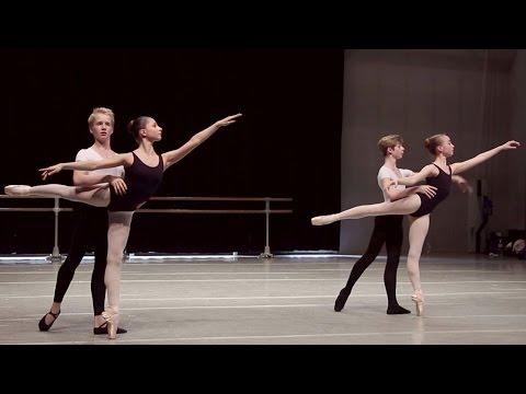 Danse classique - Adage / filles et garçons 15-16 ans / ballet girls & boys / Jean-Yves Lormeau