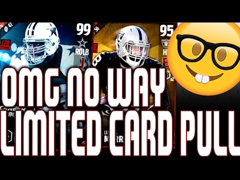 PULLING PACKS FOR 99 LIMITED DEMARCUS WARE!! OMG MY FIRST EVER LIMITED EDITION PULL!